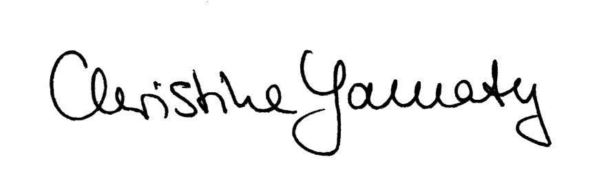 Christine Yamaty Unterschrift