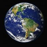 Erde Nord- und Südamerikanischer Kontinent
