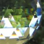 Kristallkugelausschnitt